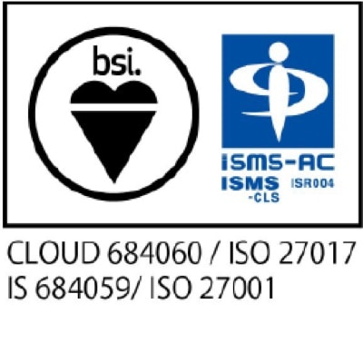 CLOUD 684060 / ISO 27017 IS 684059 / ISO 27001